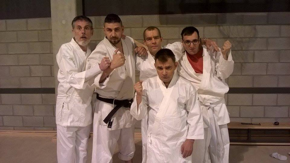 Para-karate wallonie Bruxelles learning disabilities