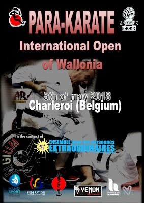 1rst Parakarate Open of Wallonia