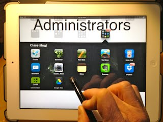 ipad for administrators