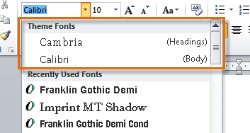 free download of fonts for microsoft word 2010