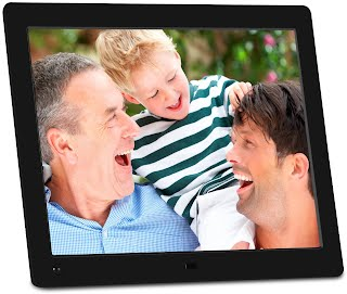 Nix Advance 10 Inch Digital Photo Hd Video 720p Frame With