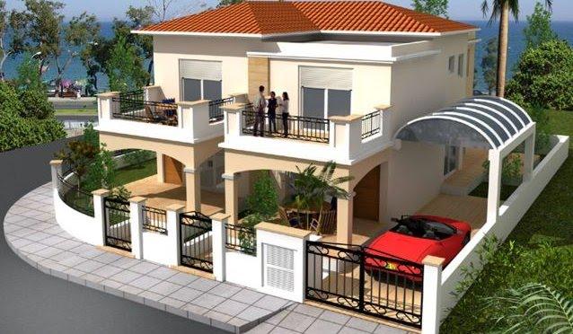 semi detached houses limassol cyprus