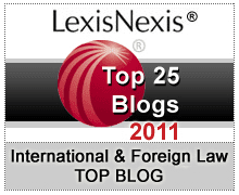 LexisNexis Top 25 International & Foreign Law Blogs for 2011