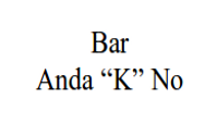 "Bar ""Anda Ke No"""