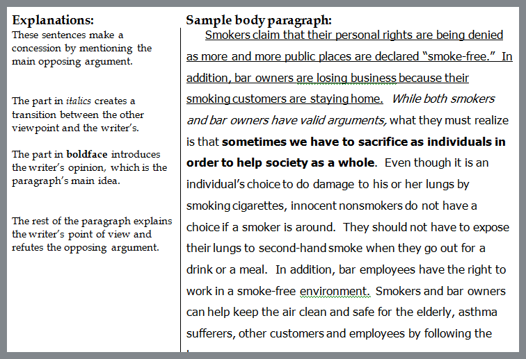 persuasive essay about banning smoking in public places