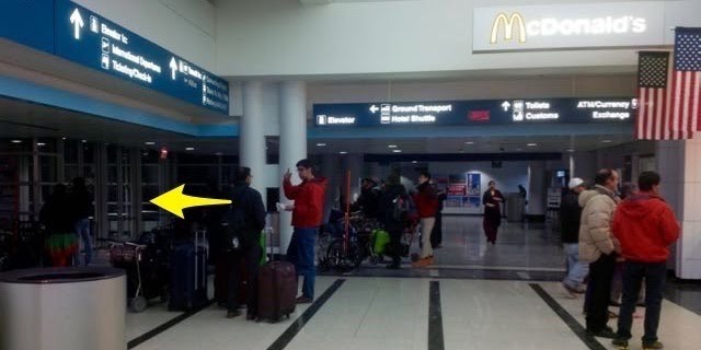 How to find van galder bus stop at t5 ohare airport navigator the floor plan of terminal 5 is fairly straightforward once you walk through the us customs get your luggages you walk into the lobby m4hsunfo