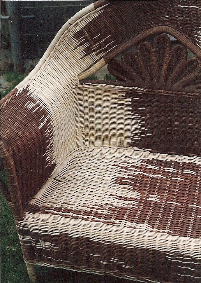 Restoration Repair Of Victorian Wicker Rocker