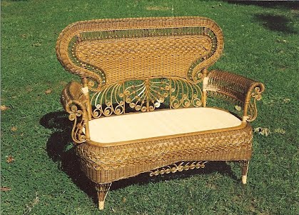- Dovetail Antiques: Antique Wicker Restoration - Dovetail Antiques