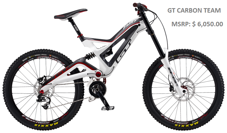 The best bicycles downhill gt carbon team altavistaventures Image collections