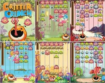 Download Games Java Critter Crunch Sony Ericsson 176x220- 240x320 Jar