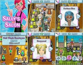 Salon 240x320 Touch Screen Game NOKIA / LG / SAMSUNG Free Download