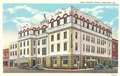 Http Www Louisiana Destinations Images Postcards Lafayette Gordon Hotel Jpg