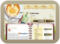 Click here to Download Coffee Desk Template