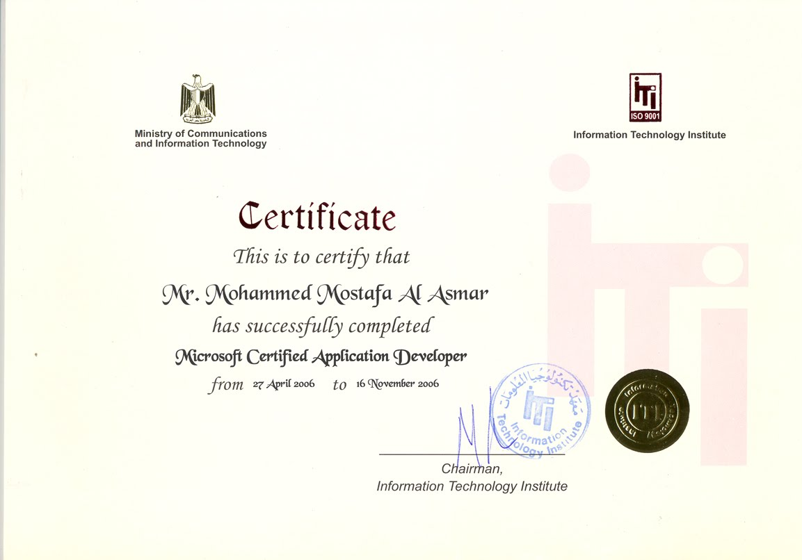Mcadg microsoft certified solution developer mcsd citi training center 1betcityfo Image collections