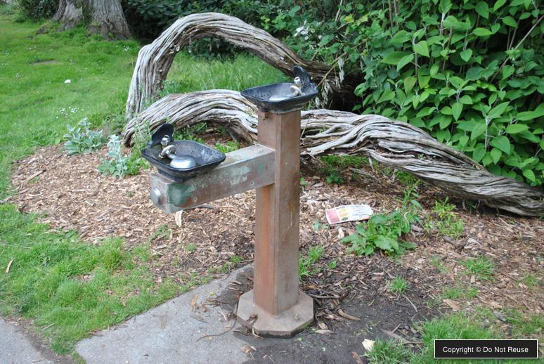 playground drinking fountain
