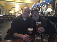 Nick and Dad Blarney Pub Ireland 2016