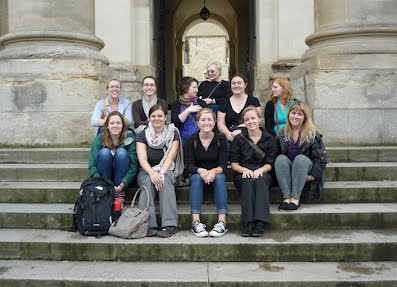 British Studies Class of 2012, Bodleian Library, Oxford, U.K.
