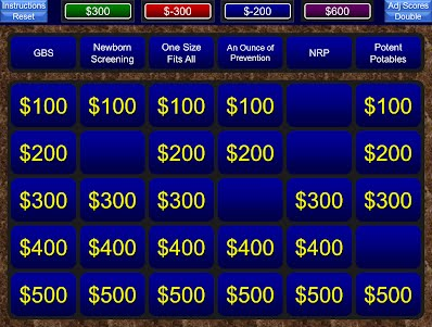 Jeopardy For Powerpoint Medical And Educational Tools