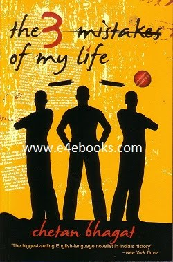 Three Mistakes of My Life - Chetan Bhagat Free Ebook Download