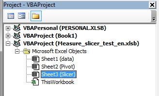 Use Slicer to select value fields for Pivot table or