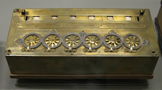 Pascalina calculator invented by blaise pascal in 1642. Location.
