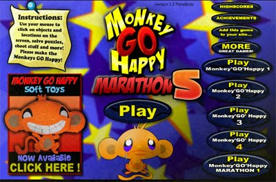 ... head-scratching compilation of eccentric mini brain teaser puzzles that  are sure to make you laugh or want to cry out for inspiration! Monkey Go  Happy 5 ...