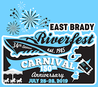 Official image for the 2019 East Brady Area Riverfest.