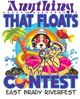 The official image for the Anything that Floats Contest.
