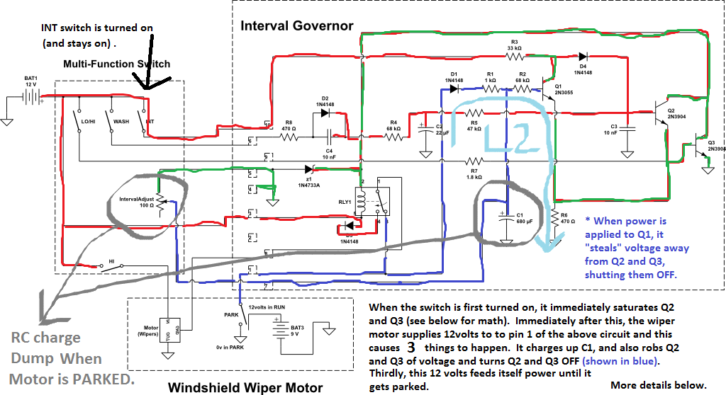 Ford Ranger Wiper Motor Wiring Diagram