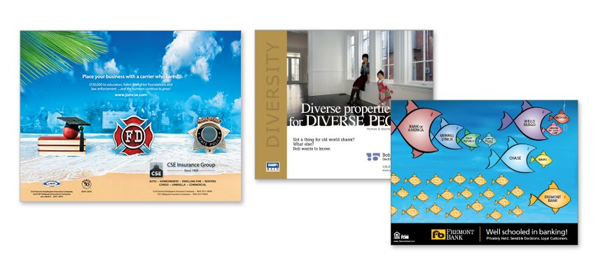 Print Ads Designed For Various Clients.