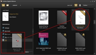Transfer from Adobe Digital Editions to ereader