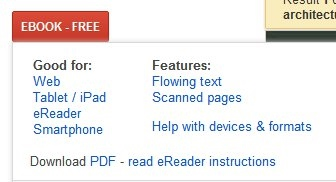 Google Books - Ebook Selections