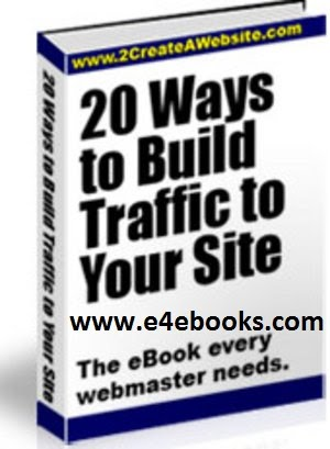 20 Ways To Build Traffic To Your Site