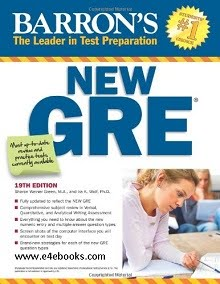 Barron's New GRE, 19th Edition - Sharon Weiner Green M.A Free Ebook PDF Download