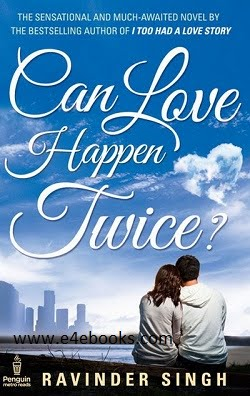 Can Love Happen Twice - Ravinder Singh Free Ebook PDF Download