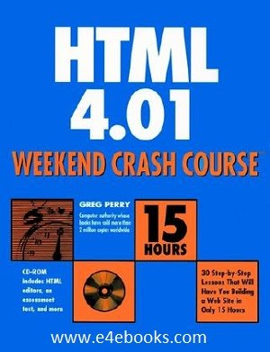 HTML 4 Weekend Crash Course - Greg Perry Free Ebook Download