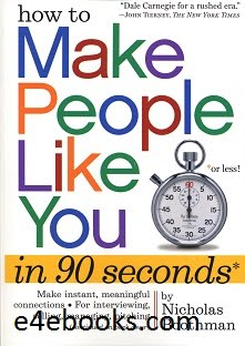 How To Make People Like You In 90 Seconds - Nicholas Boothman Free Ebook PDF Download
