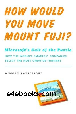 How Would You Move Mount Fuji-William Poundstone