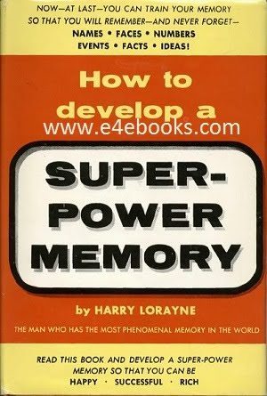 How to Develop A Super-Power Memory Free Ebook Download