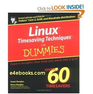 Linux Timesaving Techniques For Dummies 2004