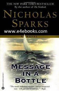 Message in a Bottle Quotes - Nicholas Sparks Free Ebook PDF Download