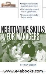 Negotiating Skills for Managers Management MBA - Steven Cohen Free Ebook PDF Download