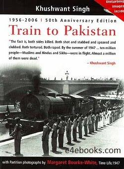Train to Pakistan - Khushwant Singh  Free Ebook PDF Download