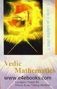 Vedic Mathematics - Bharati Krishna Tirthaji Free Ebook PDF Download