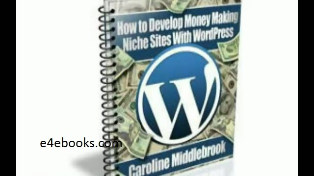How to Develop Money-Making Niche - Caroline Middlebrook Free Ebook PDF Download