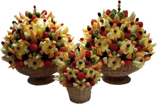 Weddings Edible Fruit Bouquets