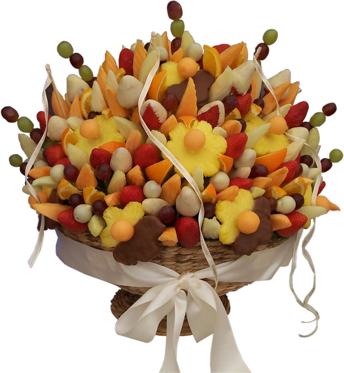 Weddings edible fruit bouquets Fruit bouquet