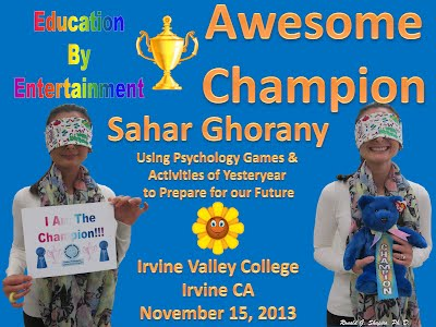 http://www.slideshare.net/DrRonShapiro/using-psychology-games-activities-of-yesteryear-to-prepare-for-our-future-irvine-valley-college-november-15-2013-champion-and-finalist-certificateses