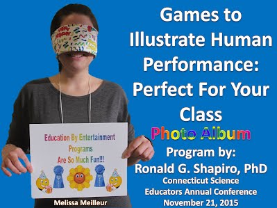 http://www.slideshare.net/DrRonShapiro/games-to-illustrate-human-performance-perfect-for-your-class-connecticut-science-educators-annual-conference-hamden-ct-november-21-2015-photo-album