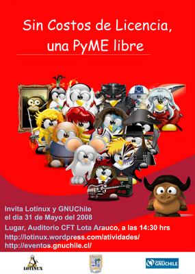Cartel Pyme Libre lotinux